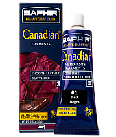 Крем - краска с защитными свойствами Saphir Canadian 75ml 01 ЧЕРНЫЙ