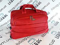 Сумка на колесах Cредняя X (62л) красная (60*31*34) чемодан дорожная сумка валіза на колесах