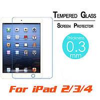 Защитное стекло для Apple iPad 2, iPad 3, iPad 4