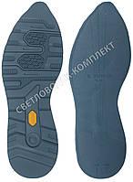 Резиновая подошва/след для обуви BISSELL BL-23, цв.#4 темно-синий, размер 42-43