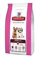Hills Science Plan - 6,5 кг собакам с предпочтением в меньшем размере гранул с курицей и индейкой
