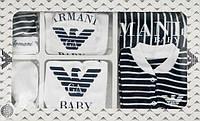 Подарочный набор для новорожденного Armani ,7 предметов., фото 1