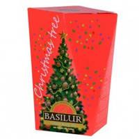 Чай черный Basilur Рождественская елка Красная 85г