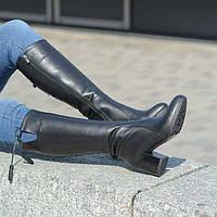 Женские осенне-зимние сапоги h 5001 black_d
