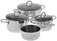 Набор посуды индукционной (7 пр.) Bergner BG-6296
