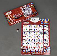 Інтерактивний плакат Букваренок 7289 Тачки