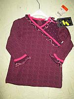 Блузка с длинным рукавом  для девочки 6-9 месяцев