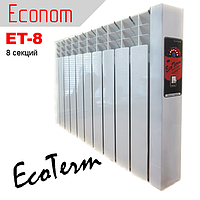 Электрорадиатор Econom ET-8 мини 96''/ электрическая батарея