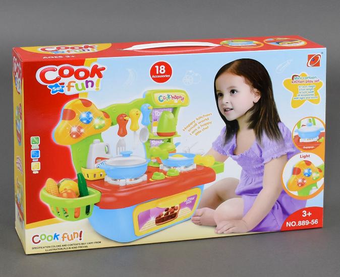 Детская кухня для девочек. Кухня игрушка. Игрушечная кухня.
