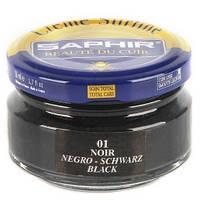Увлажняющий крем для обуви Saphir Creme Surfine 50 мл 01 (Чёрный)