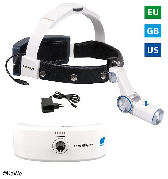 Налобный осветитель HiLight® LED H-800 c аккумулятором для головного обруча