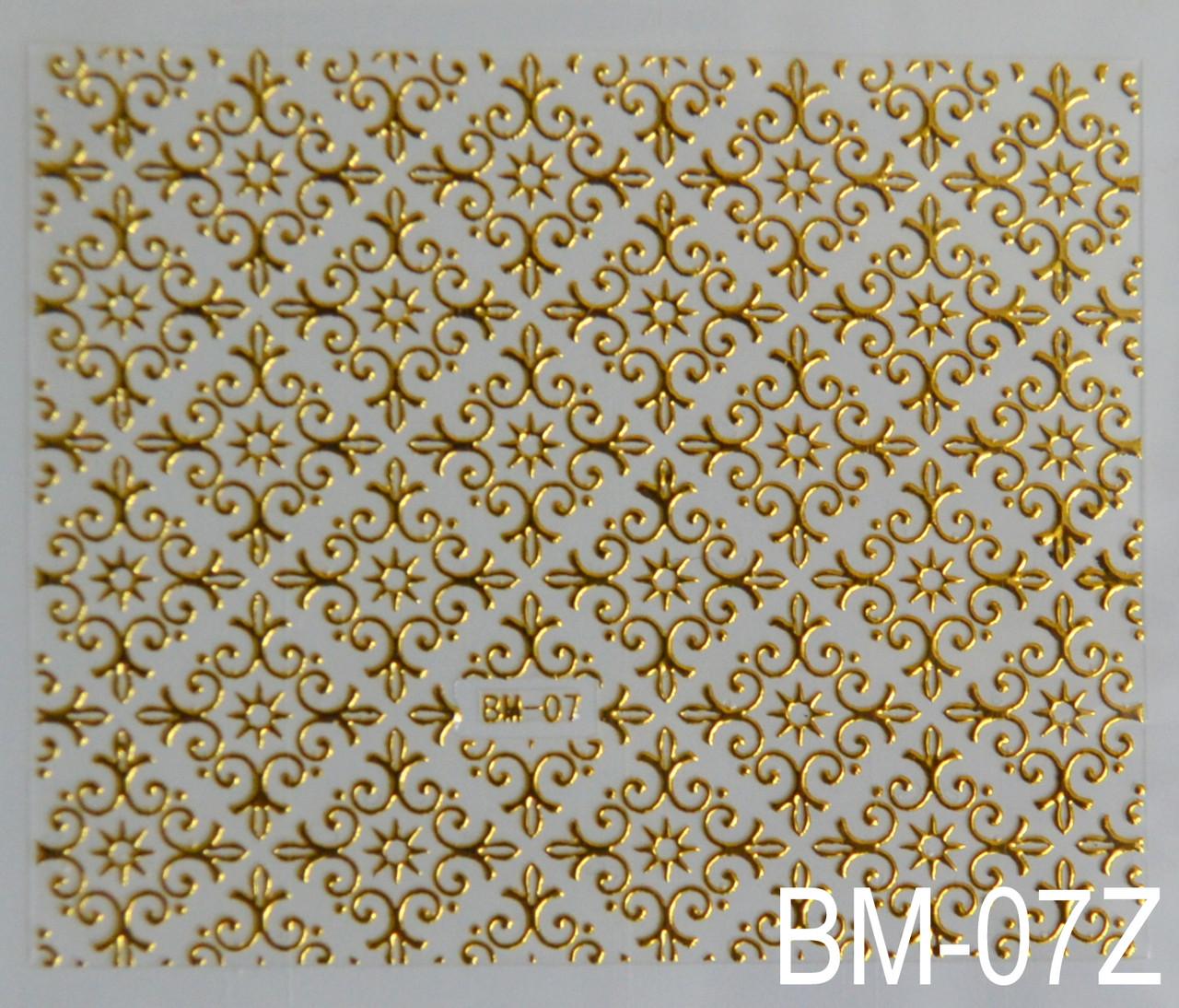 Наклейка на клеевой основе BM-07Z