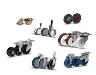 Промислові та апаратні колеса