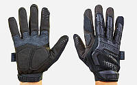 Перчатки тактические с закрытыми пальцами MECHANIX MPACT BC-5622-BK