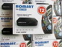 Приставка Т2,DVB-T2, MPEG-4/H.264 HD, FTA, пластиковый корпус Romsat_TR-0017HD