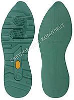 Резиновая подошва/след для обуви BISSELL BL-23, цв.#11 зеленый, размер 42-43
