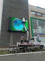 Уличный светодиодный экран P10 DIP