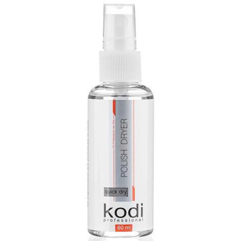 Спрей сушка-закрипитель для лака Kodi Professional, 60 мл.