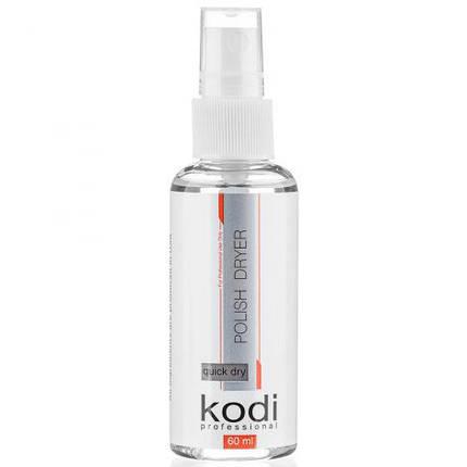 Спрей сушка-закрипитель для лака Kodi Professional, 60 мл., фото 2