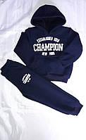 Детский спортивный костюм на флисе Champion батник 92-116