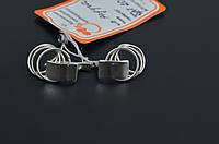 Серебряные серьги Радуга, фото 1