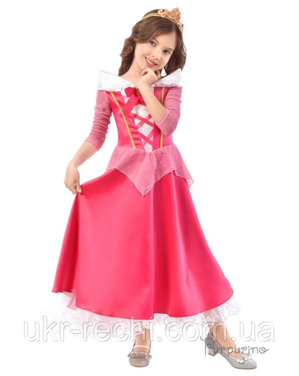Дитячий карнавальний костюм Принцеси Аврори Код. 2127