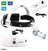 Налобный осветитель HiLight® LED H-800 с аккумулятором для головного обруча и для крепления на ремень