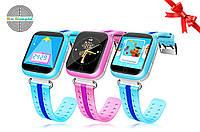 Оригинал! Умные часы Q100S, Smart Baby Watch Q100 c GPS трекером