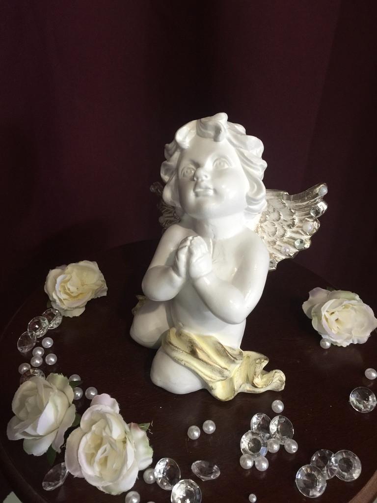 Ангел Молящийся, пастель