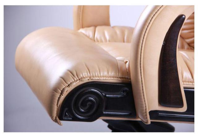 Кресло Кардинал MB Тёмный орех Мадрас Голд Беж (Вид сиденье)