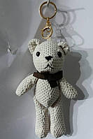 123 Аксессуары, модные брелоки медведи для сумок и ключей. Брелок мишка 25 см