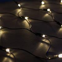 Светодиодная гирлянда сеть 2х1м, 176 LED, ПВХ