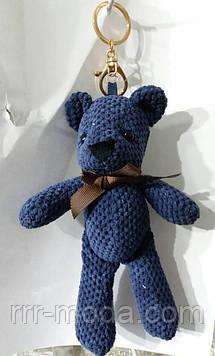124 Большие брелоки медведи для сумок и ключей. Брелок мишка 25 см
