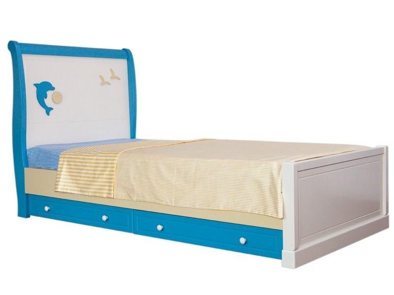 Кровать подростковая SEA&SKY