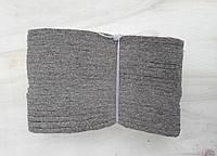 Стелька для обуви войлочная 7 мм, размер 37- 48 (упаковка 10 пар)