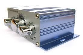 HiFi мини стерео 2-х канальный усилитель HY-2001
