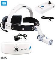 Налобный осветитель HiLight® LED H-800 с аккумулятором для головного обруча и для крепления на ремень (ВБ)
