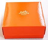 Кожаный ремень Hermes коричневый, фото 6