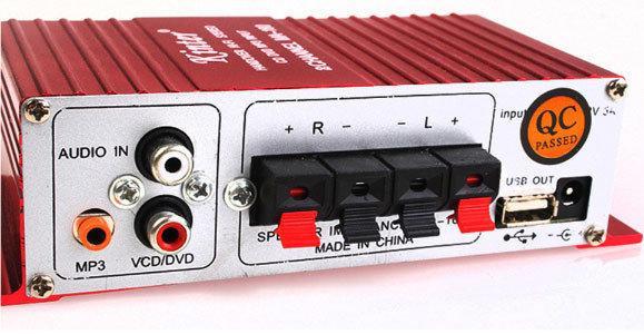 Усилитель HI-FI 2-х канальный Kinter MA-180