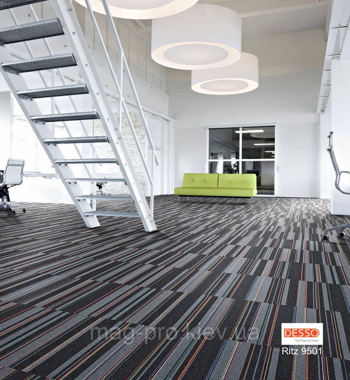 Дизайнерская ковровая плитка  DESSO RITZ
