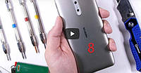 Смартфон Nokia 8 успешно прошел тест на прочность