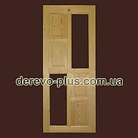 Двері з масиву дерева 80см (під скло) s_1580