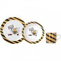 "Набор посуды детский ""Limited Edition Busy Bee"" (3 предмета) 93025 / C145"