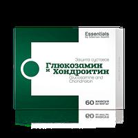 Глюкозамин и хондроитин-капсулы для восстановления суставов  (60капс.,Сибирское здоровье)