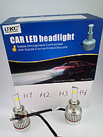 Cветодиодные авто лампы с цоколем Н 1 , H 2,  H 3 , H4