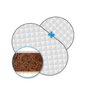 2 отдельных матрасы для люльки и кроватки