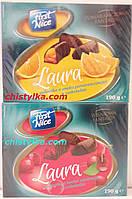 """Желейные конфеты в шоколаде """"Laura""""190 г апельсин"""