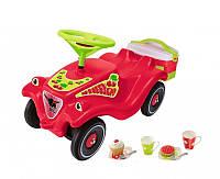 Машинка каталка красная с корзиной для пикника Big  (56095)