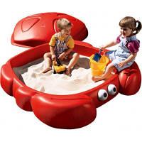 Детская Песочница Краб с крышкой Step2 7405 (7405)