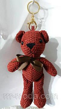125 Большие брелки медведи для сумок и ключей. Брелок мишка 25 см